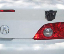 autobot car decal