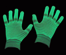 glow in the dark glove