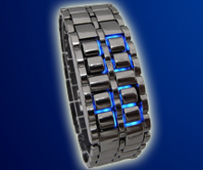 chain watch blue