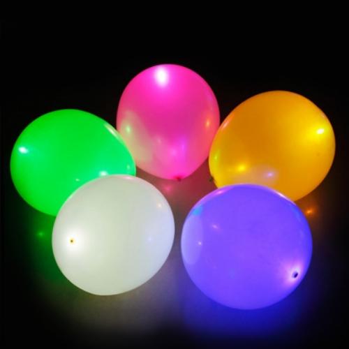 Balloon LED Light Lamp Lites White 6pack