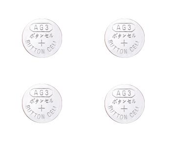 AG3 LR11 LR736 392 SR726 Cell Battery Batteries 4Pack