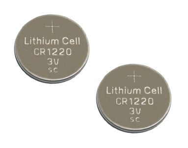 CR1220 5012LC Lithium Cell Battery Batteries 2Pack