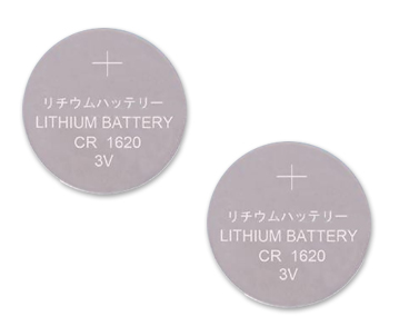 CR1620 5009LC Lithium Cell Battery Batteries 2Pack