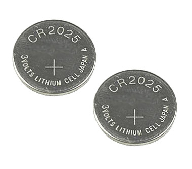 CR2025 5003LC Lithium Cell Battery Batteries 2Pack