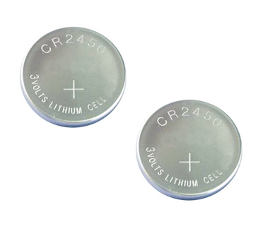 CR2450 5029LC Lithium Cell Battery Batteries 2Pack