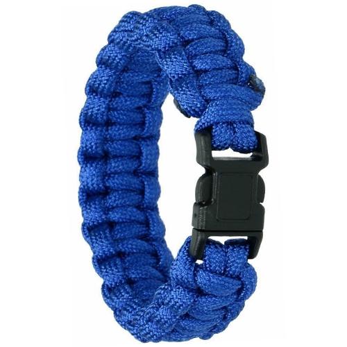 Survival Bracelet Paracord Rope Rescue Emergency 330lb Blue