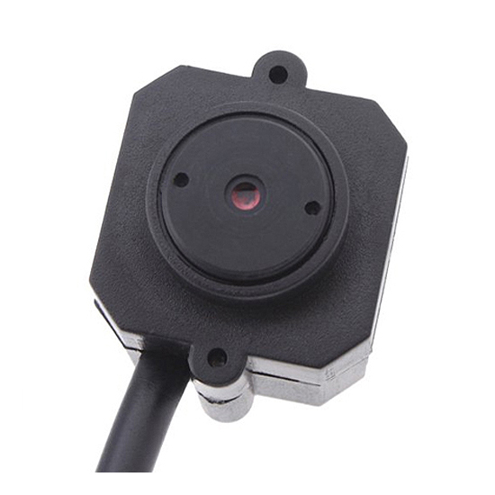 CCTV Mini Camera Color Surveillance Security Cam Wired RCA Black