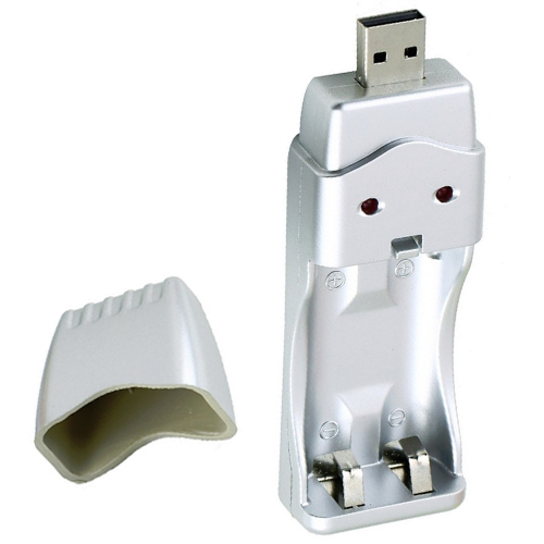 USB Rechargeable Battery Charger Ni-MH AA/AAA