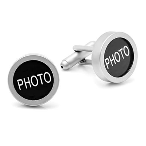DIY Photo Frame Picture Memory Cufflinks