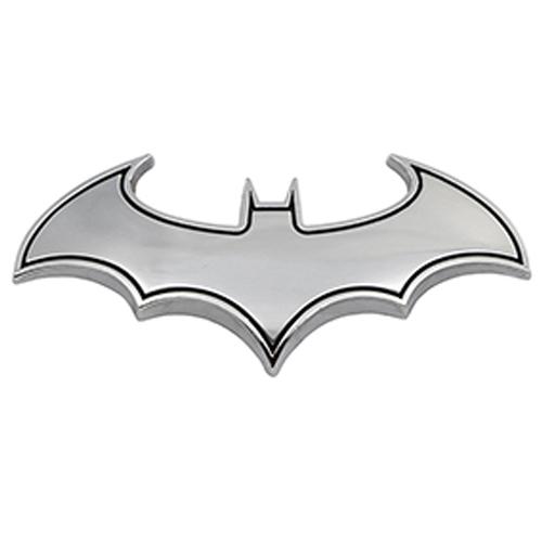 3D Batman Metal Decal Chrome Sticker