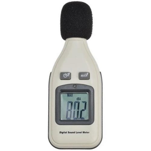 Digital Sound Meter Decibel Pressure Level Tester Grey