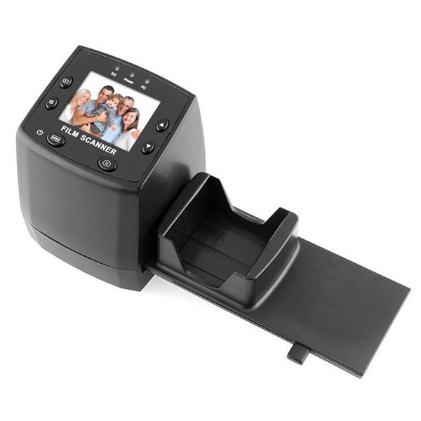 Negative Film Scanner to Digital Image Converter