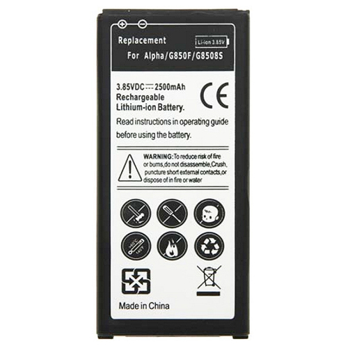 Samsung Galaxy Alpha Replacement Battery 2500mAh