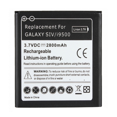 Samsung Galaxy S4 SIV Replacement Battery 2800mAh