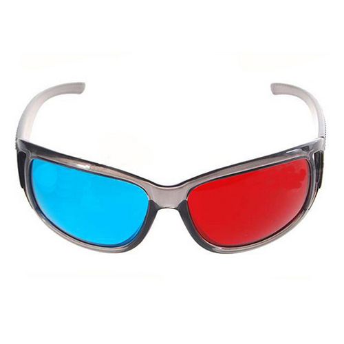 3D Glasses Plastic Red Cyan Anaglyph Viewers