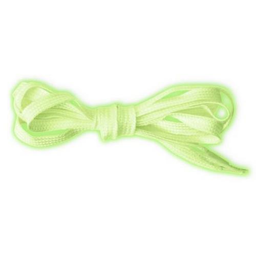 Glow In The Dark Shoelaces String Pair Green