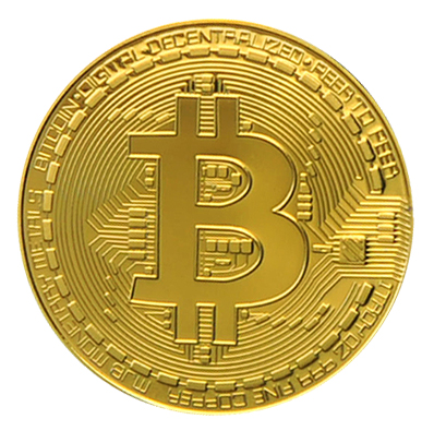 Gold Bitcoin Physical Cryptocurrency Coin