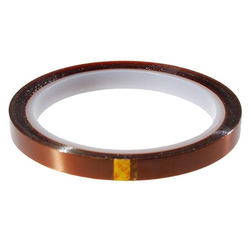 Heat Resistant High Temperature Adhesive Tape 8mm 33m