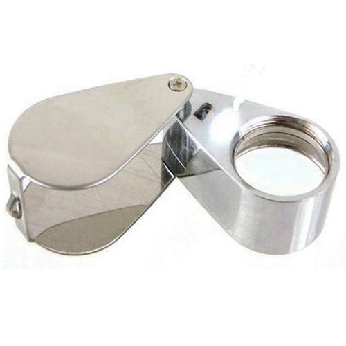 Jewelers Loupe 30x 21mm LED Light Magnifying Glass