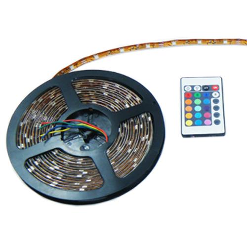 5 Meter 5050 RGB LED Strip Multi Colored Roll Lights Kit