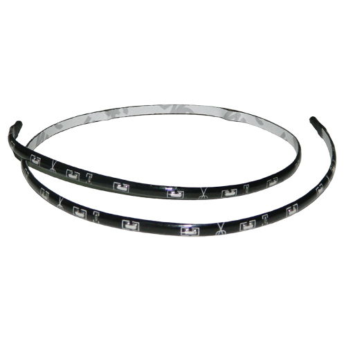 30x LED Light Strip Side Emitting 3528 SMD 60cm White