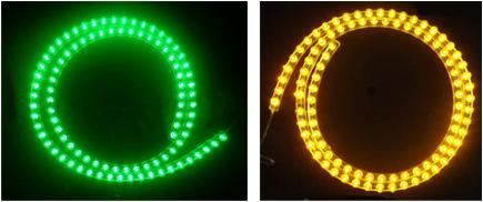 96 LED Flexible Waterproof Light Strip 12V 96cm