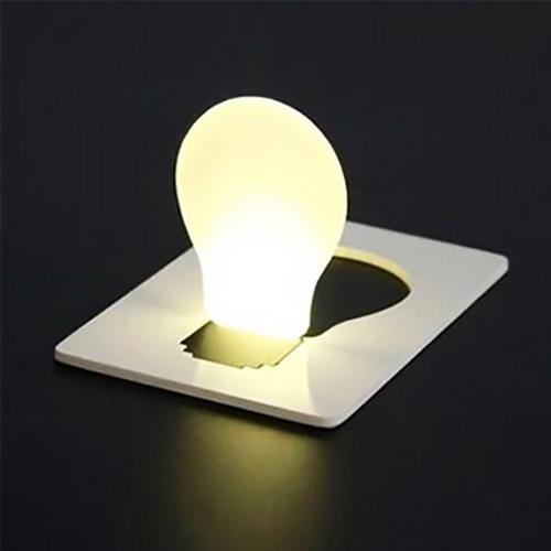 Pocket Light Bulb Card Pocket Wallet