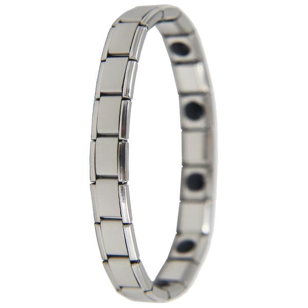 Magnetic Healing Bracelet Titanium Womens