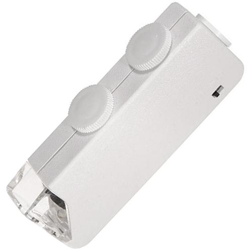 160X-200X Pocket Microscope Magnifier w/ LED Light