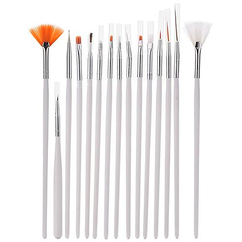 Nail Polish Paint Brush Art Set 15 Pack