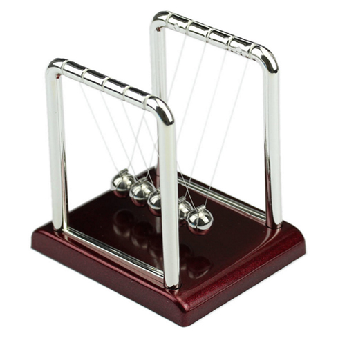 Newton's Cradle Physics Momentum Desk Toy