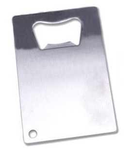 Bottle Opener Credit Card Stainless Steel