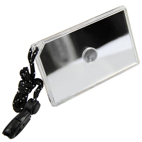 Signal Mirror Emergency Survival Rescue Tool