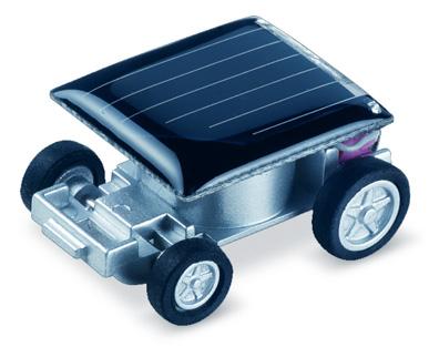 Solar Powered Mini Race Car Sunlight Energy Toy
