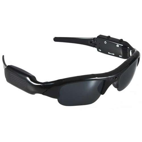 Spy Sunglasses DVR Camera Cam Video Audio Recorder Glasses