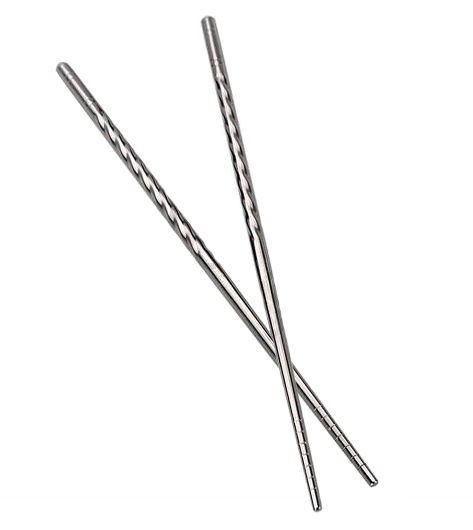 Stainless Steel Chopsticks Grip Pair