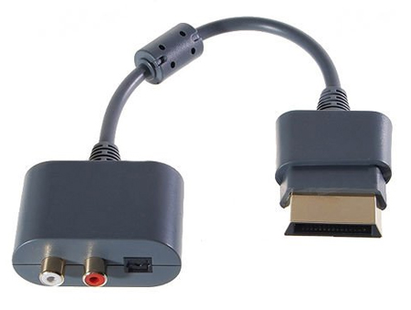 Xbox 360 Audio Adapter Optical & RCA