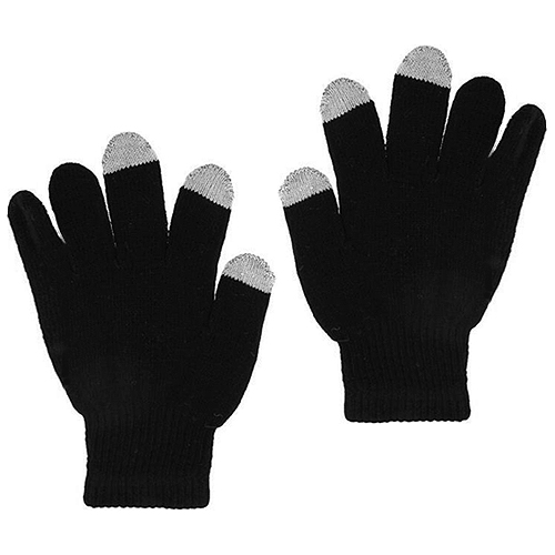 Smart Phone Touch Screen Gloves Black